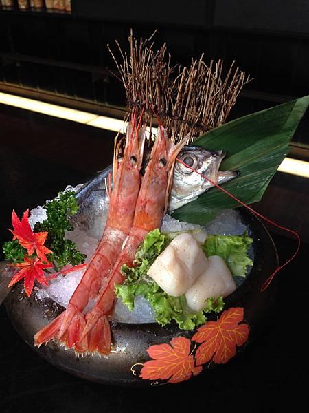 阿根廷紅蝦、北海岸竹莢魚、關東築地特級干貝