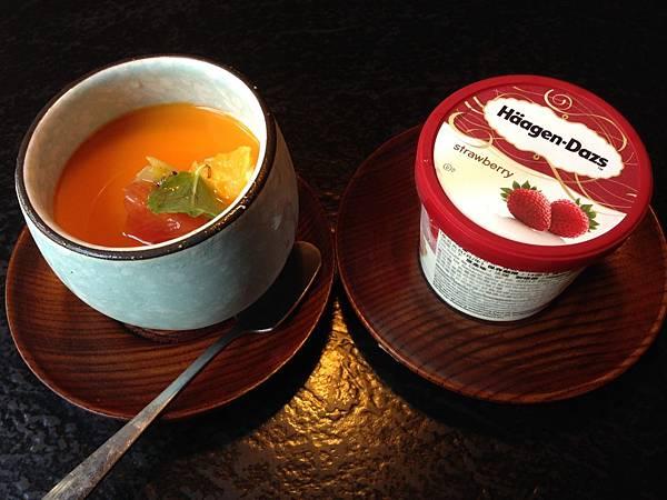 手工奶酪&哈根達斯冰淇淋(草莓)