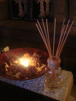 花圈杯蠟&馨香竹