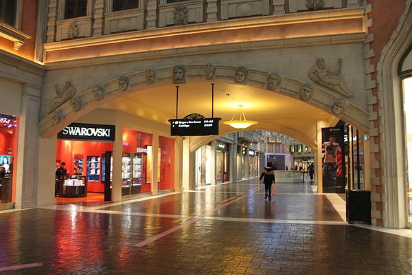 大運河購物中心,寬敞的購物空間