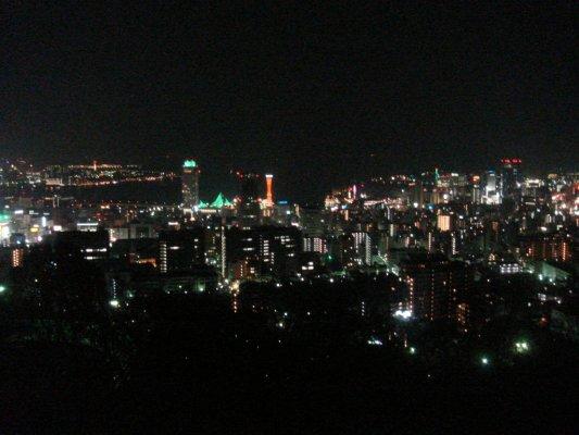 Kobe's nightview