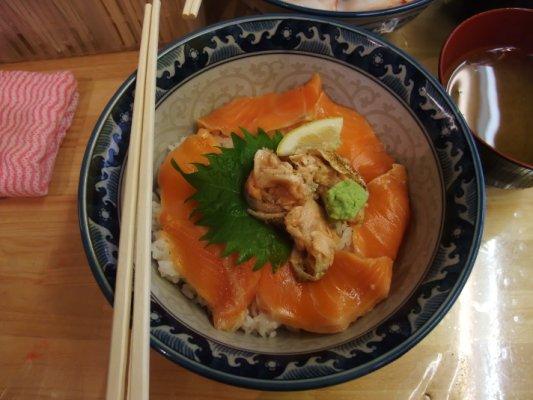 我吃鮭魚的
