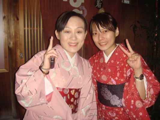 3500日幣的和服體驗