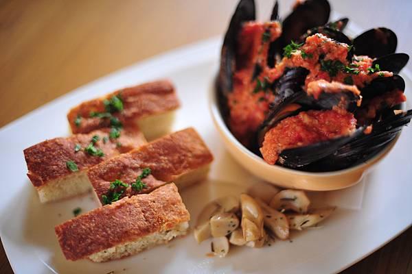 奶油茄汁鮮貽貝