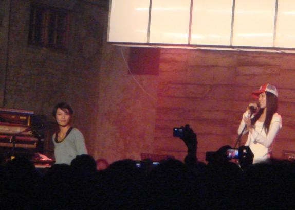 惠婷和范范