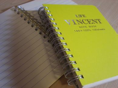 Viincent筆記本