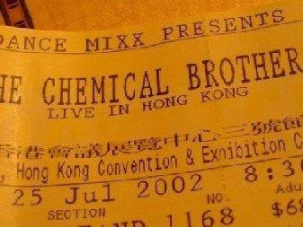 Chemical門票again