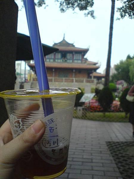 冬瓜茶vs.赤崁樓