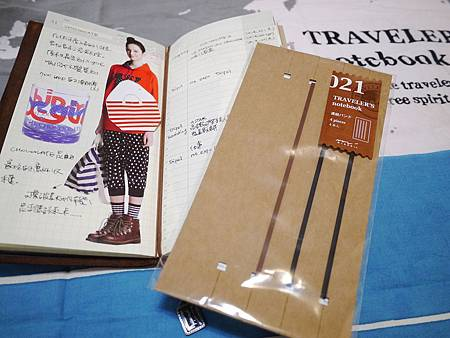 TRAVELER'S notebook新品綁帶