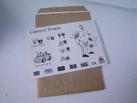 camera people貼紙