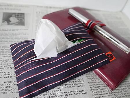 Delfonics西裝布料面紙包