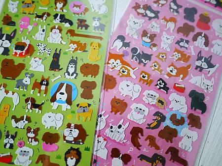 KAMIO JAPAN狗狗貼紙