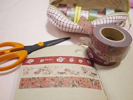 Pink house紙膠帶