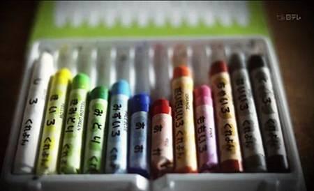 Pentel12色蠟筆
