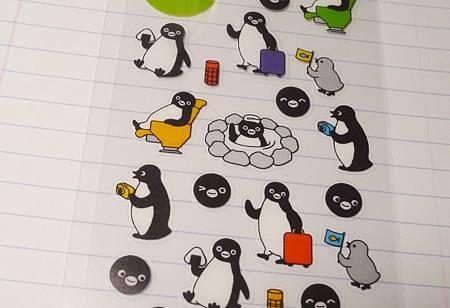 文溪堂suica企鵝貼紙