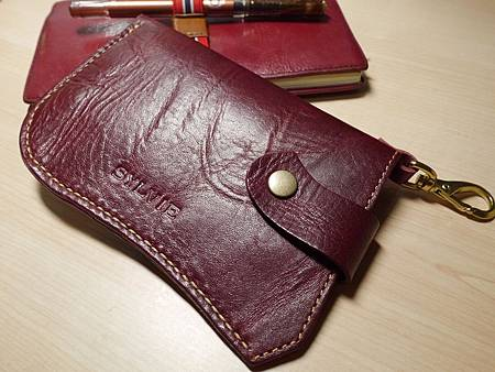 皮革手機袋