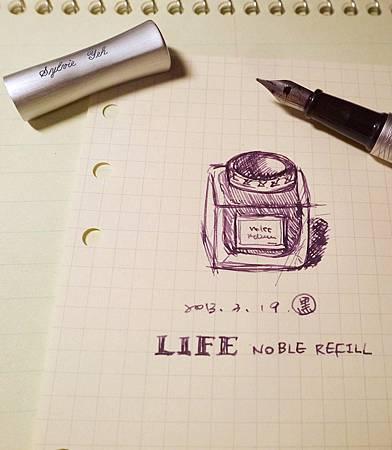 L!FE NOBLE REFILL