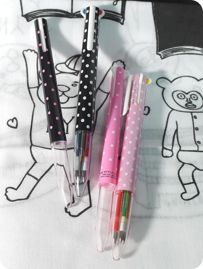 Style fit三色新筆管