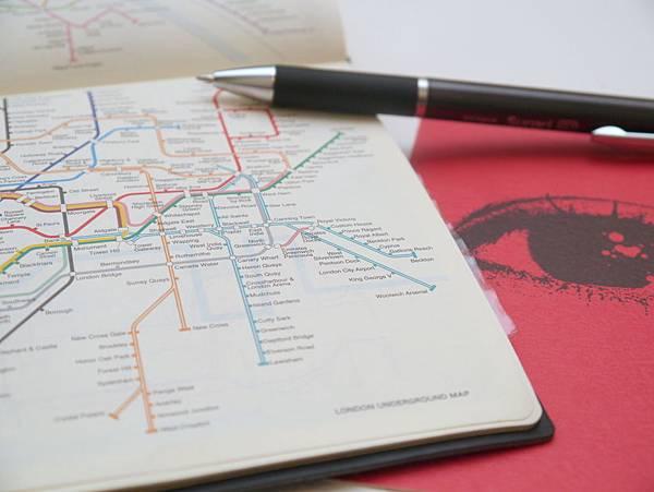 倫敦地鐵圖