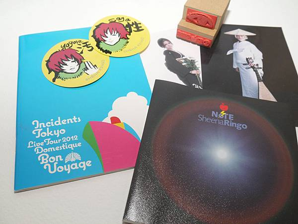 林檎班BOX內容物及BonVoyage筆記本