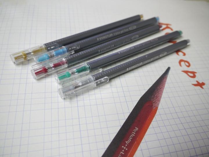 STAEDLER三角膠墨筆