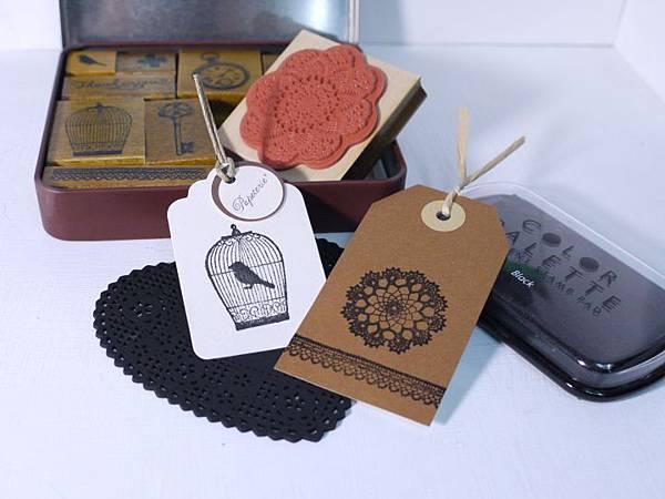 Margaret stamps set盒裝印章試作