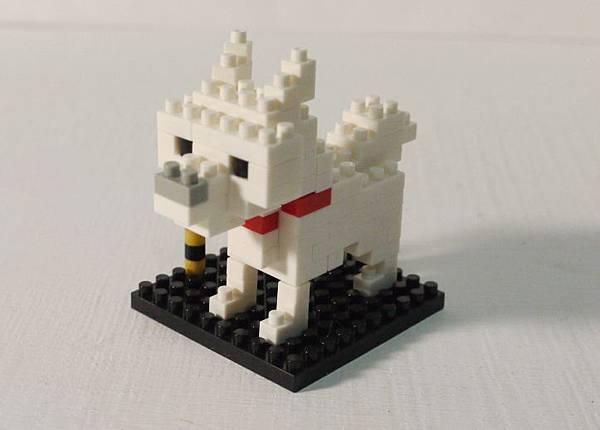 Nanoblock北海道犬