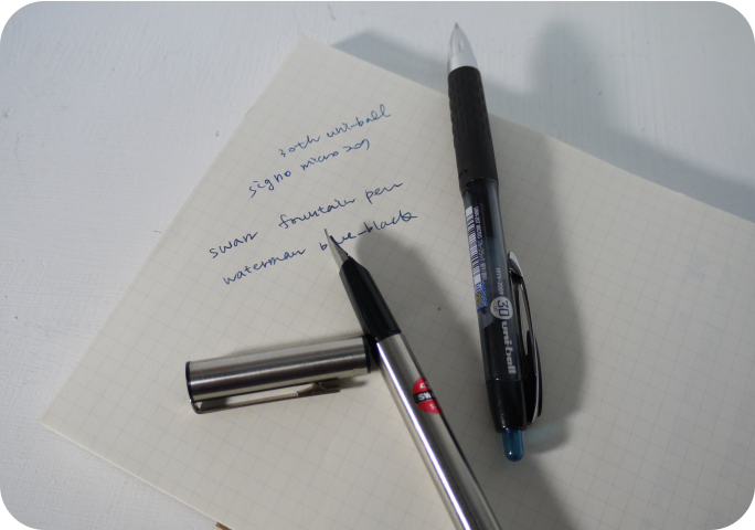 Swan鋼筆和書寫筆