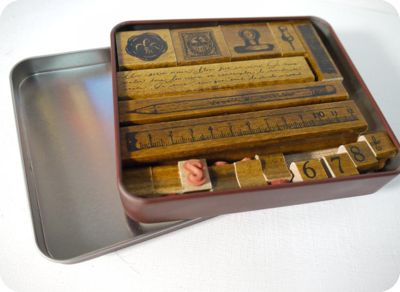 Margaret鐵盒印章