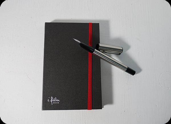 電影公司送的筆記本
