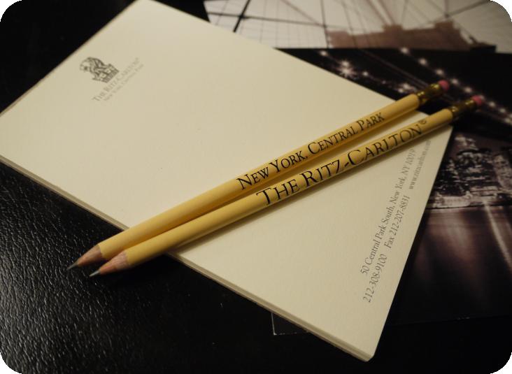 Ritz Carlton文具組