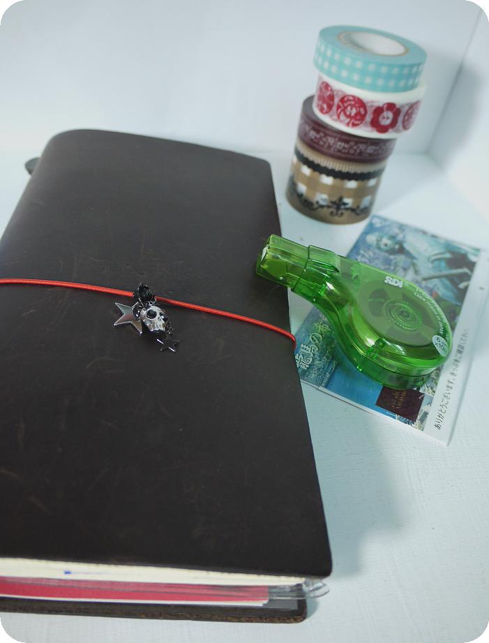 traveler's notebook與友人