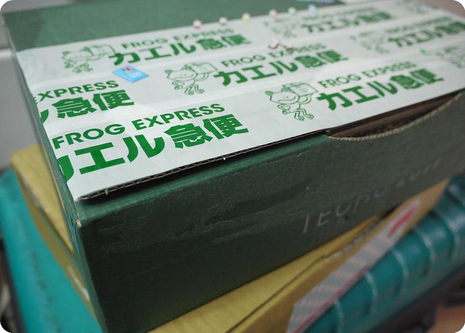 青蛙宅急便紙膠帶箱