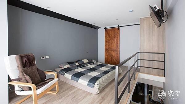 樂宅系統櫃室內設計裝潢工業風新店系統傢俱