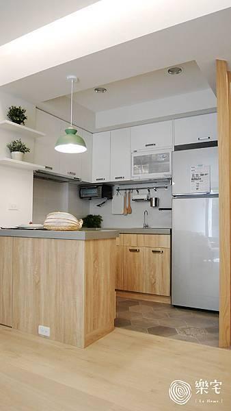 樂宅系統家具設計 系統傢俱 陽明山 湖濱大廈 舊翻新 兩房兩廳 三房兩廳 自主裝修