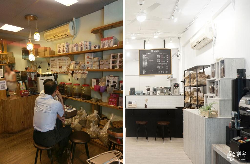 樂宅設計|愛啡客EEFFOC現烘咖啡|15坪 咖啡廳舊翻新%26;品牌設計包裝