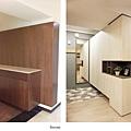 樂宅設計 桃園蘆竹 中悅凱薩春天 三房兩廳舊翻新 系統櫃設計 玄關前後
