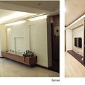 樂宅設計 桃園蘆竹 中悅凱薩春天 三房兩廳舊翻新 系統櫃設計 電視牆轉角