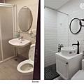 樂宅設計 桃園蘆竹 中悅凱薩春天 三房兩廳舊翻新 系統櫃設計 客浴前後