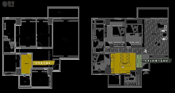 格局圖樂宅設計 新店 景美 萬隆系統家具設計 舊翻新