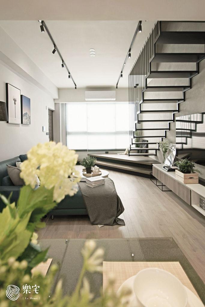 樂宅設計|三重透天毛胚屋|25坪毛胚屋 三房兩廳兩樓