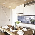 樂宅設計|中和冠德大境|25坪新成屋 三房兩廳 系統家具設計