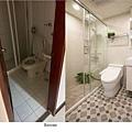主浴 景美金運金- 三房兩廳24坪舊屋翻新