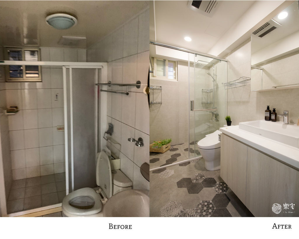 客浴 景美金運金- 三房兩廳24坪舊屋翻新