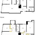 平面圖BA 景美金運金- 三房兩廳24坪舊屋翻新