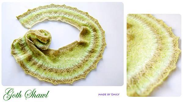 goth shawl