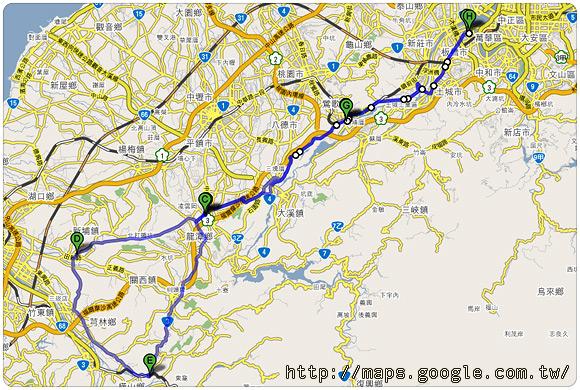 本日累積里程134.79公里
