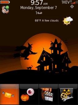 Halloween Storm Theme