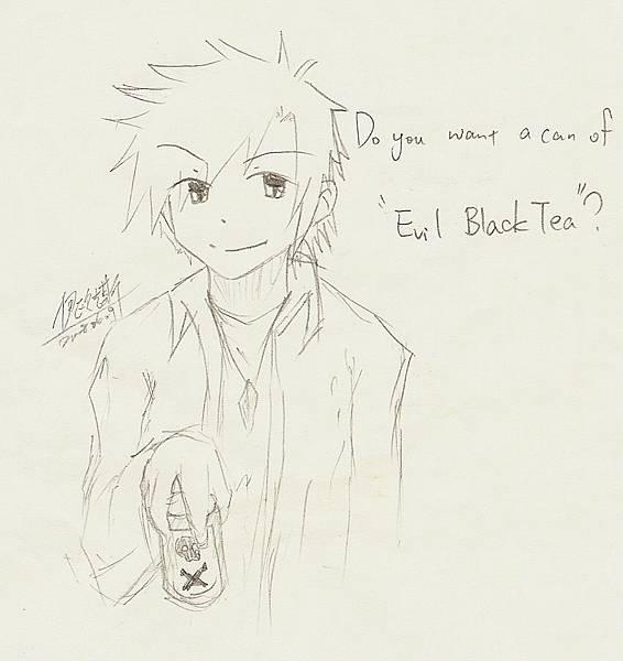 自畫像with evil black tea