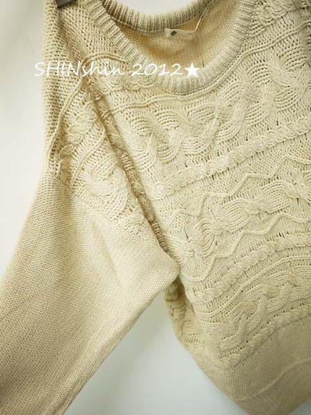 majestic粗針織羅紋寬版毛衣5
